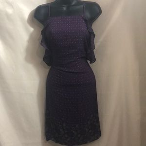 Blue Rain dress from Francesca's👗💃🏽💅🏽☂️☔️☂️